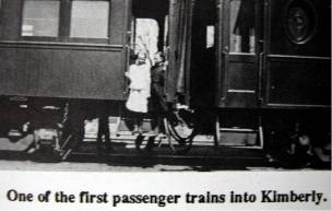 First Passenger Train